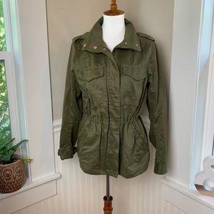 H&M Military Style Drawstring Summer Jacket